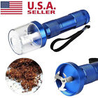 Electric Aluminum Alloy Metal Grinder Crusher Tobacco Smoke Spice Herb Muller US photo