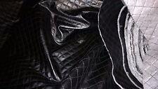 stoffa similpelle finta pelle trapuntato effetto trapuntato colletto nero