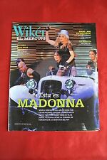 Madonna October 2008 Wiken Import Chile Celebrity Magazine