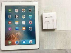 Apple iPad 3rd Gen. 64GB, Wi-Fi, 9.7in - White ios 9.3.5