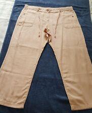 "A Lovely Debenhams Collection Light Pink Linen Trousers Size 16 - I Leg 28 "" Inc"