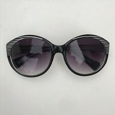 Cole Haan Large Black Square Oversized Sunglasses