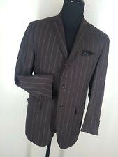 Polo Ralph Lauren Italy Vintage 100% Linen Suit 3 Btn US Size 44 R -Fit 44R-46 R