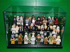 Lego Star Wars Superheroes Minifigures Collectors Multilevel Clear Display Case