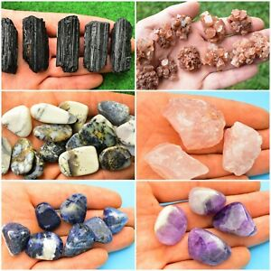 Large Variety of Raw Crystals Stones-Specimens-Fossils-Gemstones & More