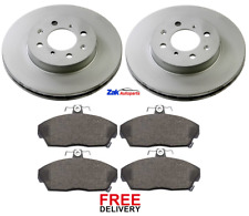 FOR ROVER 200 400 (1995-2000) FRONT BRAKE DISCS & PADS SET *NEW*