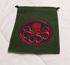 Marvel Dice Masters Age of Ultron Avengers _ Green HYDRA Drawstring DICE BAG NEW