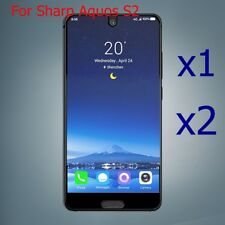 2X Real Tempered Glass Screen Protector Cover For Sharp Aquos S2 Protector Skin