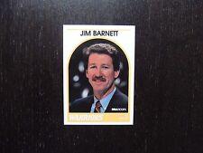 1989 1990 NBA Hoops Announcer Card Jim Barnett Warriors Promo Basketball Card
