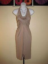 NWT  Arden B. Drape Neck Halter Jersey Dress Size XS