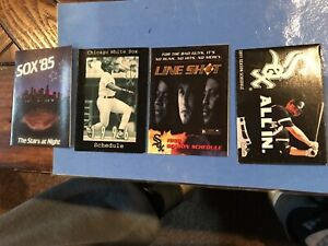 Chicago White Sox pocket schedule lot (4)