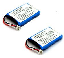 2 x Battery for THSOMSON 5-2762,317883/PHILIPS ID555/ID5551B/38/ID5552B/38