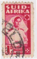 (RSA240) 1942 South Africa 1d red nurse (F) (SUID)