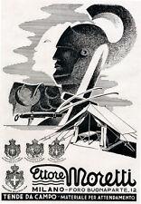 MORETTI-Tende da campo-CENTURIONE- spada - gladio-SAVOIA-1941.