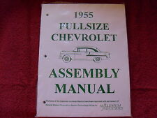 1955 55 CHEVY CHEVROLET BELAIR 210 150 ASSEMBLY MANUAL