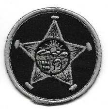 Cuyahoga County OHIO OH Police Sheriff Deputy patch OLD round subdued SWAT