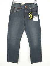 Volcom Boys Relaxed Fit Jeans Size W26 L26 Vintage Blue