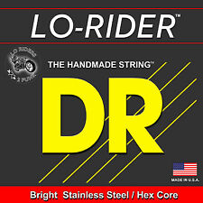 DR Strings TMH5-45 LONG NECKS Stainless Steel Tapered Bass Guitar Strings, HEX C