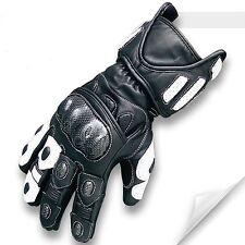 Profi Motorrad Handschuhe, Sport-Handschuhe Carbon Knöchel Schutz Fingerschutz