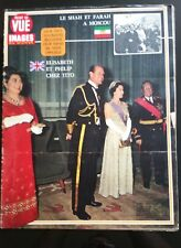 Magazine Point de Vue 22/10/1972; le Shah et Farah à Moscou/ Elisabeth et Philip