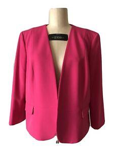 NWT Hot Pink Kasper Blazer Size 16P