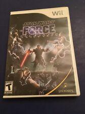 STAR WARS THE FORCE UNLEASHED --- WII w/ Original Box