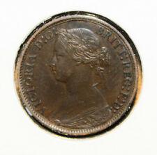 Great Britain 1 Farthing 1866 Extremely Fine + Coin - Queen Victoria