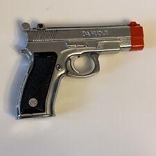 Vintage Refillable Butane Silver Pistol Lighter - Da Huo Jo CZ75B - Unique
