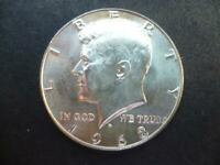 United States of America Kennedy Half Dollar coin 1968 40% Silver good condition