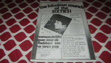FAB SOUNDS OF THE 60'S # 10 '77 DUTCH MOD BEAT MAG.FARLOWE WALKER BROTHER ETC.