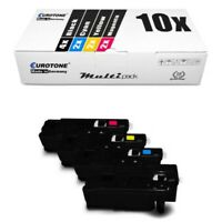 10x Eco Toner For Epson Aculaser C 1700 C 1750 N With Per Ca. 1.400/2.000 Pages