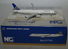NG Model 53050 Boeing 757-224WL Continental Airlines N17126 in 1:400 scale