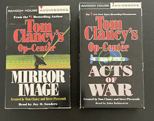 Tom Clancy Op-Center Mirror Image and Acts of War Audio Cassettes Abridged