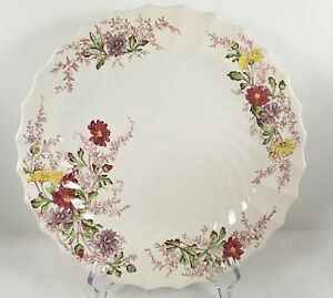 """Spode FAIRY DELL Dinner Plate Copeland England Vintage Floral Swirl 10-1/2"""""""