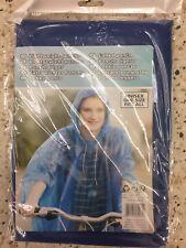 Poncho de pluie  bleu Homme Femme