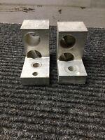 Used Lot of 2 Ilsco D1318 Mechanical Lug PB2-500 500MCM-4/0 AL9CU