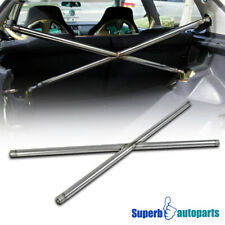 For 92-95 Civic 3-Door HB C-Pillar X Cross Strut Tie Bar Rear Trunk Suspension