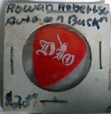 1990 Lock Up the Wolves Dio Rowan Robertson Tour Guitar Pick