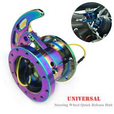 6-hole Steering Wheel Racing Flippable Quick Release Hub Adapter Body Removable