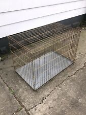 """36"""" L X 24"""" H X 22"""" W HEAVY Kennel Pet Crate Collapsible, Folding Large Breed"""