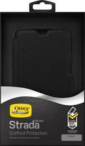 Genuine NEW Otterbox STRADA WALLET LEATHER Rugged DropProof Case Cover iPhone XR