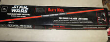 Star Wars DARTH MAUL ROTS Force FX Master Replicas Lightsaber DOUBLE BLADE