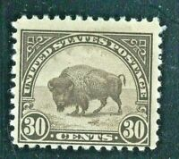 [Q]  US #569 MNH  1923 30c Flat Press Regular ~ Perf 11X11...Free Shipping
