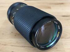 Sears 80-200mm f/4 Pentax MC PK-Mount Manual Focus Auto Zoom SLR Lens