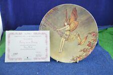 Lovely Danbury Mint ''Fairy On A Swing'' Fairy World Decorative Plate RD7878