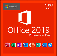 MICROSOFT®️OFFICE®2019 PROFESSIONAL PLUS Key 32/64-bit Lifetime Activation Code
