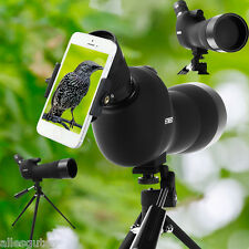 Angled Spotting Scope Longue-vue zoom 20 - 60 x 60 faune/nature observation Neuf