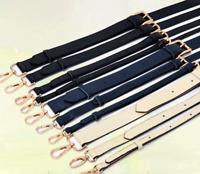 Real Leather Replacement Strap Adjustable Crossbody Shoulder Handbag Strap 3Size