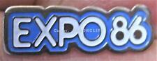 EXPO 86 BAR Lapel Pin VANCOUVER B.C. CANADA 1986 WORLDS FAIR MINT