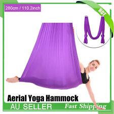 Aerial Yoga Swing Hammock Trapeze Inversion Anti-Gravity Pilates Sling Fitness